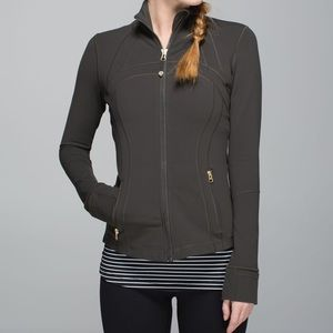 Lululemon Define Jacket Dark Wren size 6